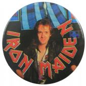Iron Maiden - 'Adrian Smith' 32mm Badge